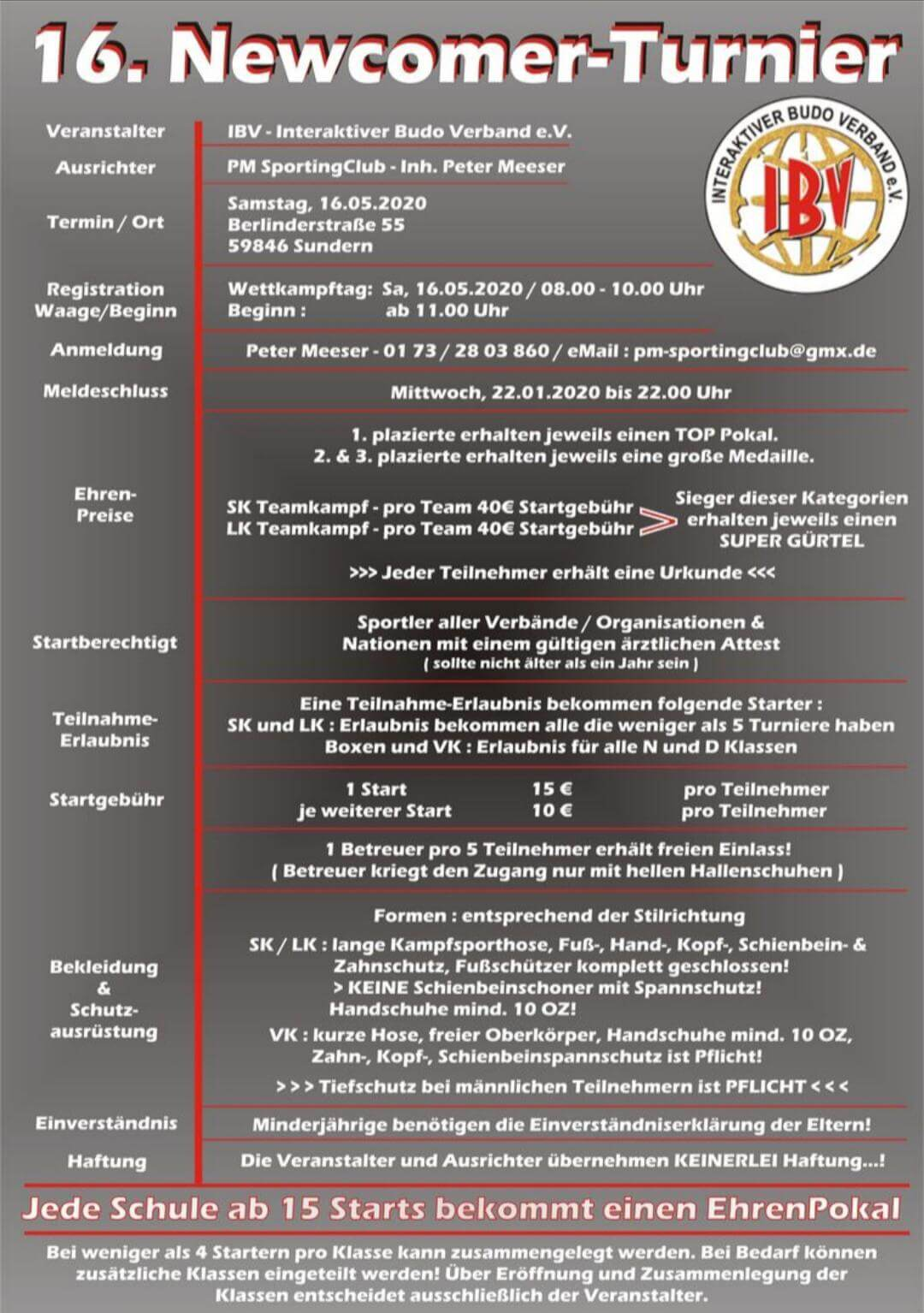Deutsche Meisterschaft 26-01.2019 – Plakat 2