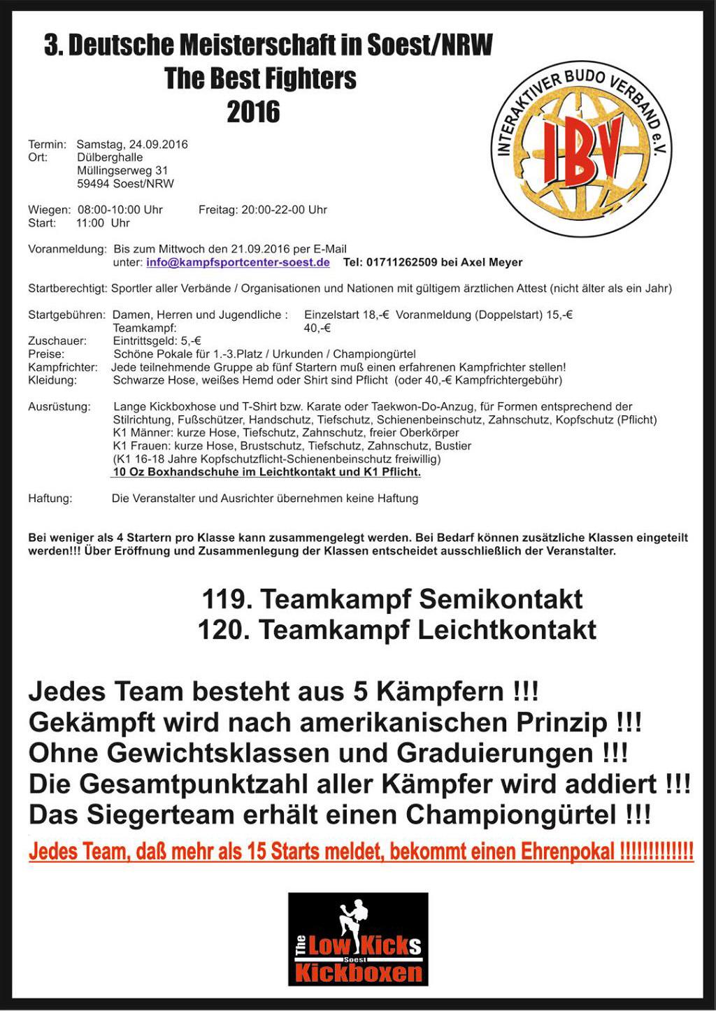 3 Deutsche Meisterschaft Kickboxen 2016 Seite-2