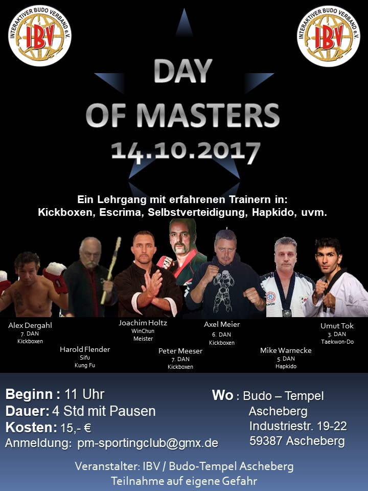 Day of Masters 2017