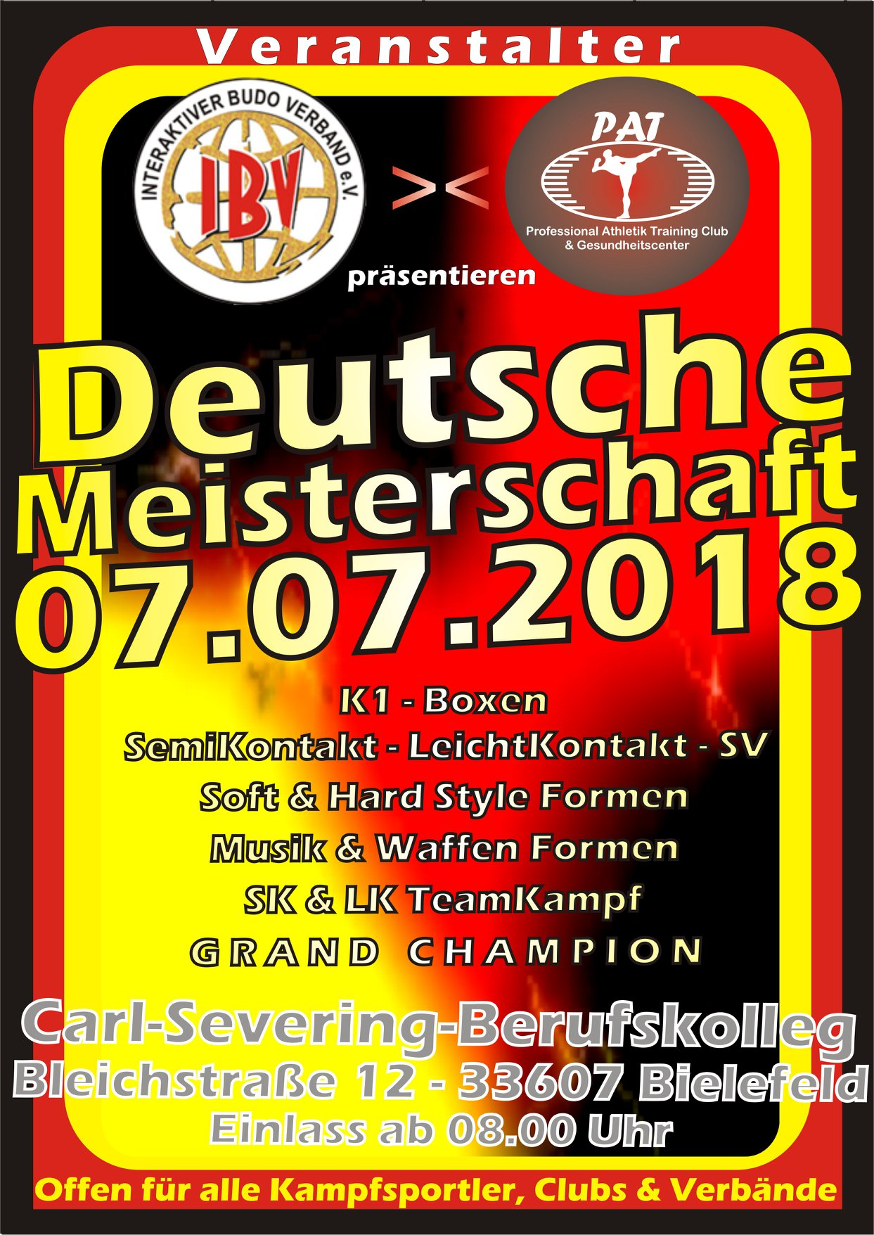 Deutsche Meisterschaft 2018 in Bielefeld am 7 Juli (2)