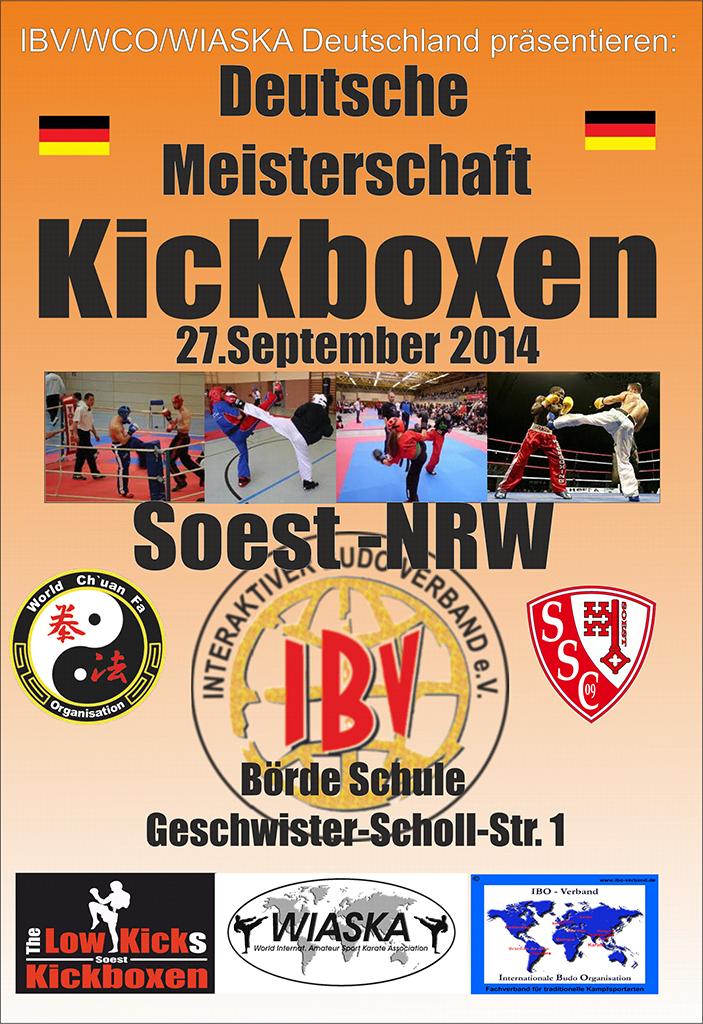 Deutsche Meisterschaft im Kickboxen Seite-1