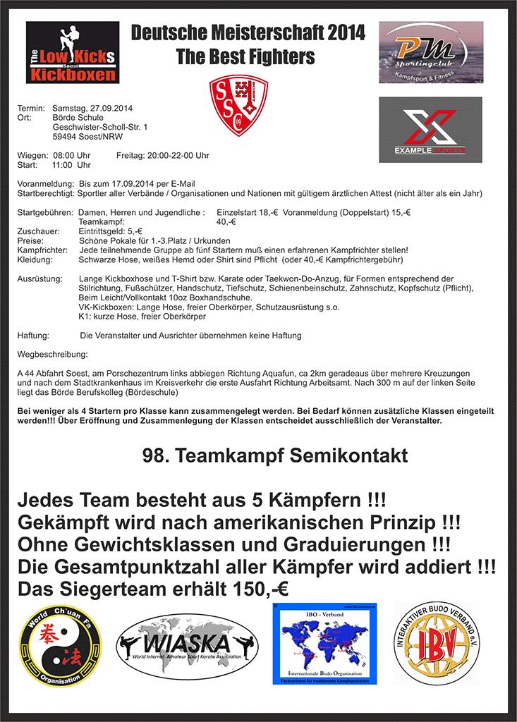 Deutsche Meisterschaft im Kickboxen Seite-2