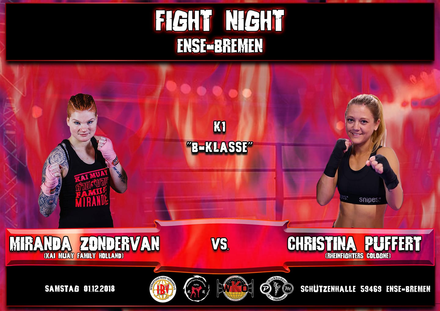 Fight Night Ense-Bremen TOP Fight 2018