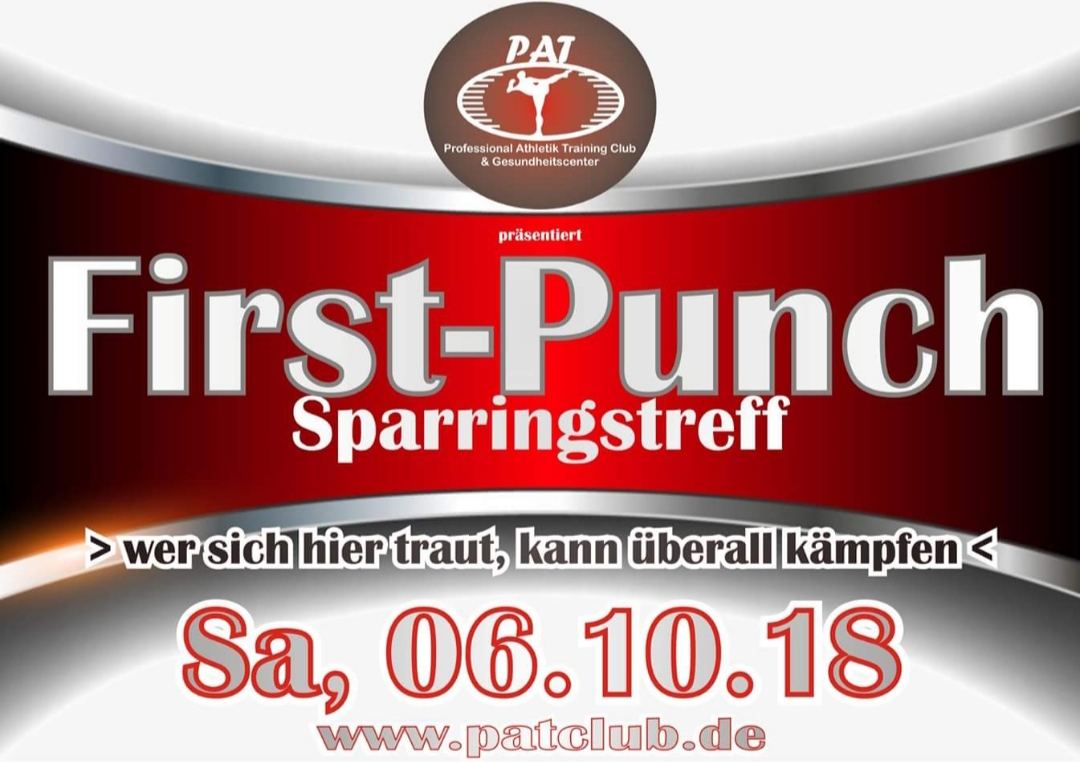 First-Punch-Sparringstreff-PAT-Club-6-10-2018
