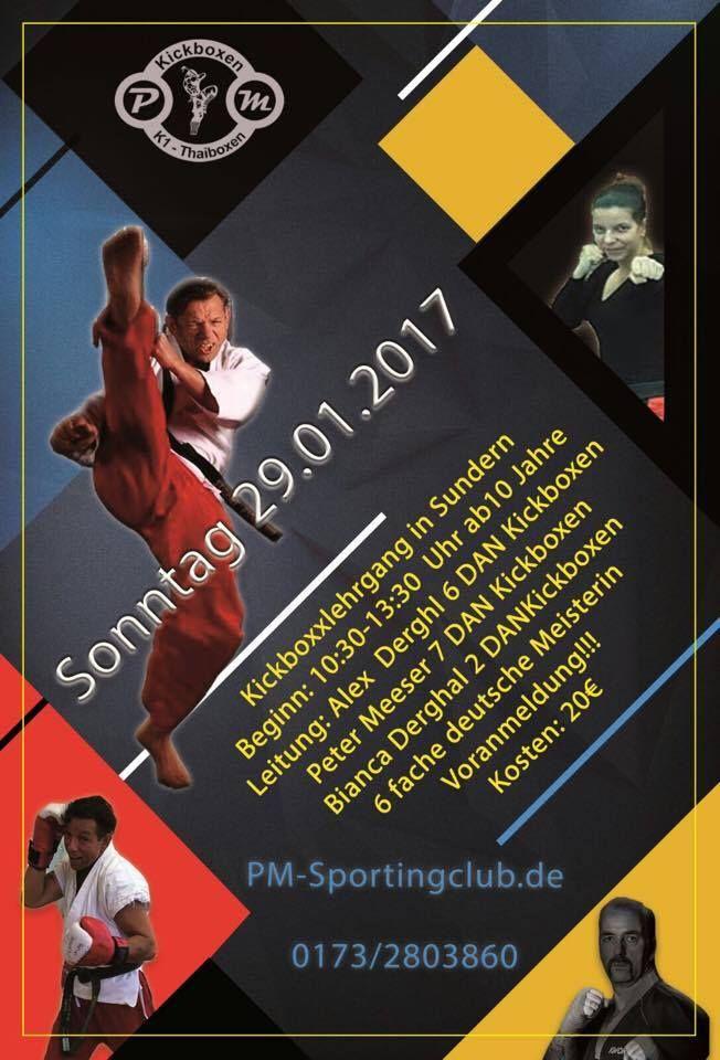 Kickboxlehrgang 2017