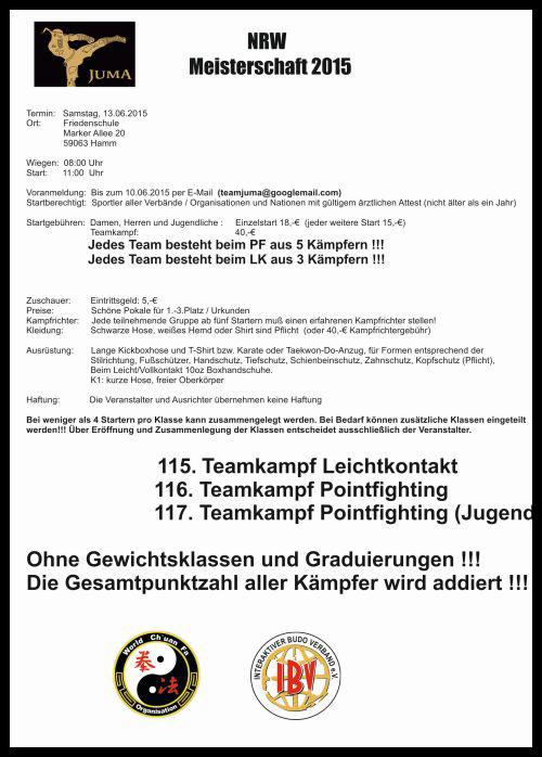 NRW Meisterschaft im Kickboxen 2015 Seite-2