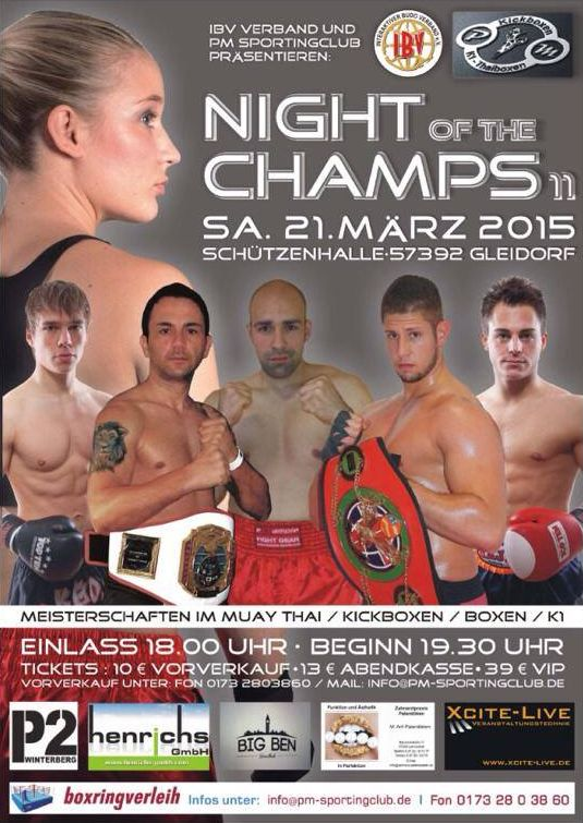 Night of the Champs 2015