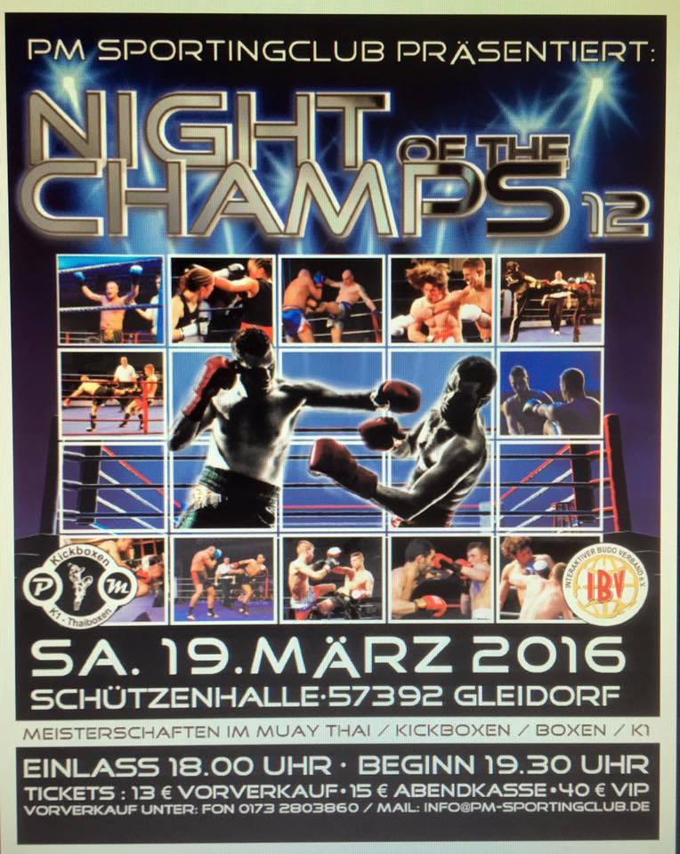 Night of the Champs 2016