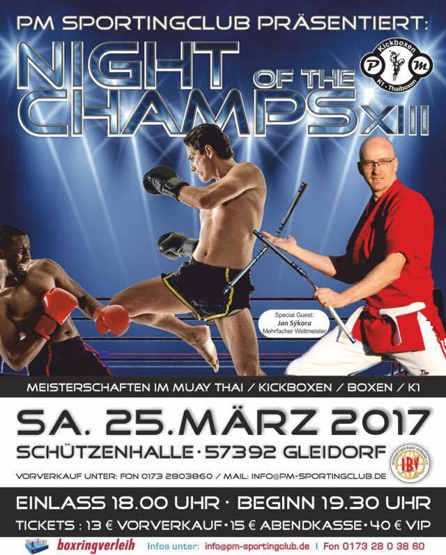 Night of the Champs 2017