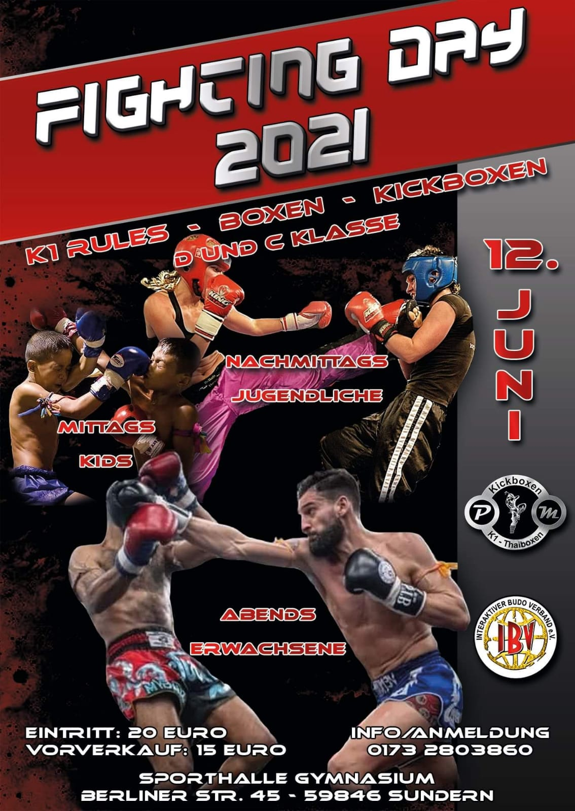Fight Day 2021 12 Juni 2021