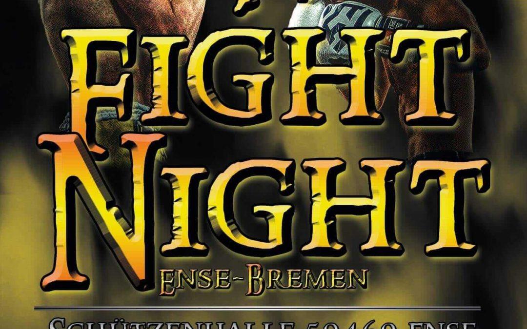 4te Fight Night in Ense-Bremen am 4 Dezember 2021