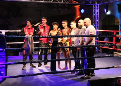 Impressionen der Fight Night in Ense-Bremen am 7. Dezember 2019