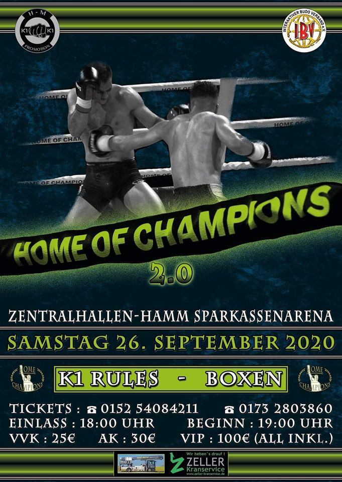 Night of the Champs 16 in Schmallenberg-Gleidorf im März 2020