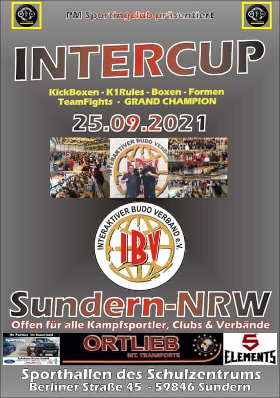 InterCup 25.09.2021 in Sundern - Plakat