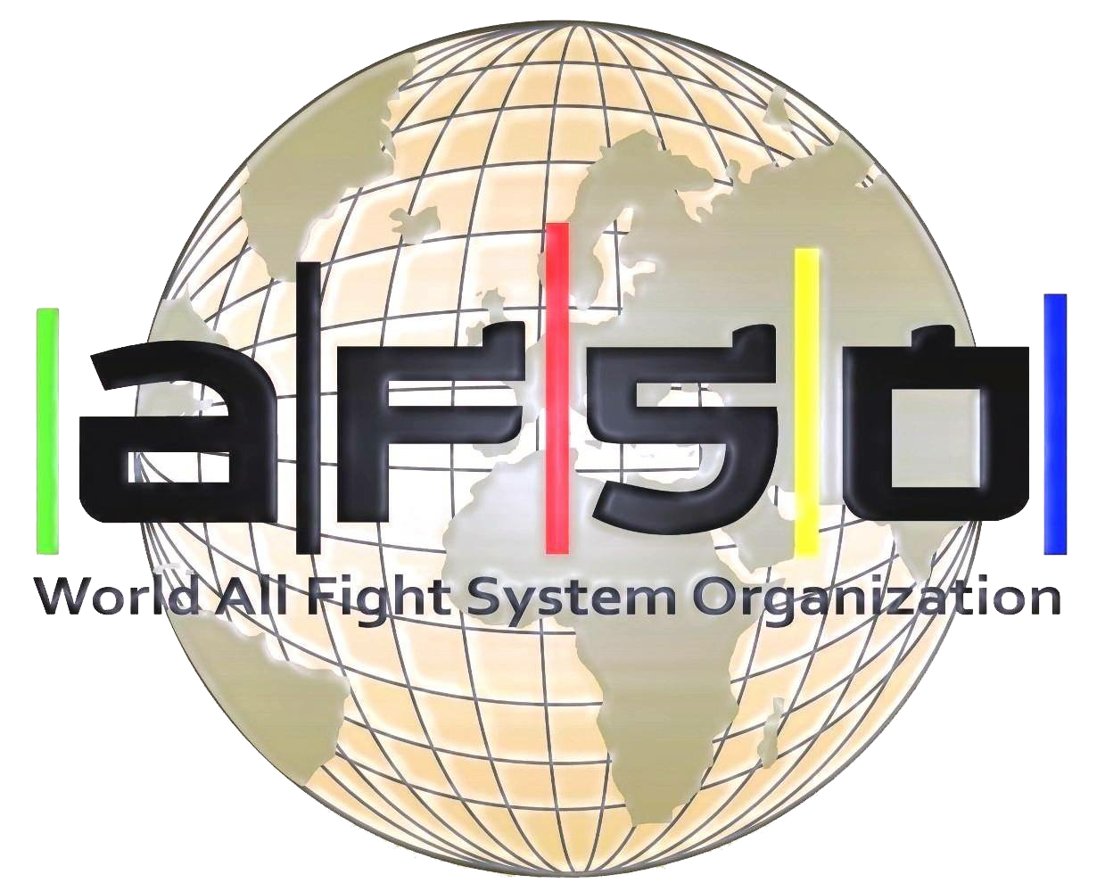 World All Fight System Organization Logo